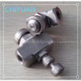 stainless steel siphon air atomizing nozzle