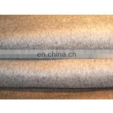 Pure100% cashmere fabric used for making coat