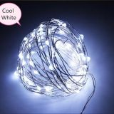 flexible LED copper wire light, Christmas holiday decorative rope lighting, waterproof party RGB lights