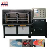 China heat press KPU shoes cover shoe vamp making machine