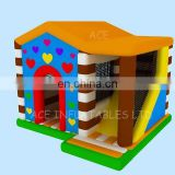commercial grade new designed Inflatable bounce slide house