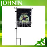 Hot selling customized size and design print family outdoor halloween garden flag