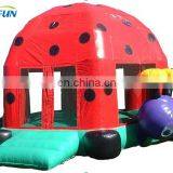 PVC inflatable bouncer for sale/ outdoor giant inflatable water slide for adult/ cheap bouncy castle prices