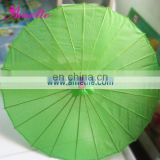 AP158-3 Green wedding bamboo craft umbrella