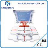 manual 1 color 1 station screen printing machine for t-shirts