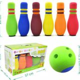 Professional NBR Foam 6 Pin Bowling Set For Kids 200mm*68mm