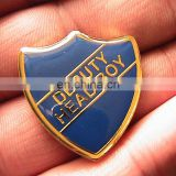 DEPUTY HEAD BOY PREFECT TYPE PIN BADGE 3.1cm tall