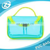 Portable Colorful Waterproof PVC Makeup Case Bag Travel Organizer Toiletry Wash Bag Pouch