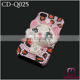 Bling Bling Phone Cover with Diamonds Rabit CD-Q025