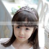 Cheap Rhinestone Crystal Tiara Hair Band Kid Girl Bridal Princess Prom Crown Headband