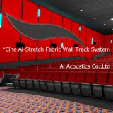 Cine Al-Stretch System: Site-Fabricated Fabric Wall Track System (Al Acoustics Own Designed)