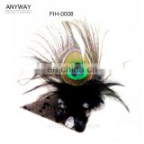 Peacock Feathers Eye Mask For Jewellry