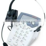Caller ID Telephone with Telephone Headphone call center telephone headset nice earphone