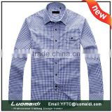 Manufacturer price latest man shirt/new casual shirt for man/long sleeve dress man shirt
