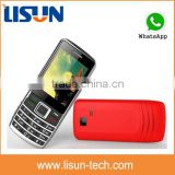 "1500mah big battery 2.4"" very low price gsm mini cell phone dual sim with whatsapp CE ROHS certificate"