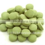 Chlorella and Spirulina Tablets (Nutritional Supplement)