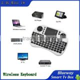 Portable mini keyboard Rii Mini i8 air mouse Wireless Keyboard with Touchpad for PC Pad Google Andriod smart TV Box