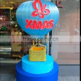 Hot Air Balloon for Christmas Decoration with Christmas Decorations hanging ornaments hot air balloon