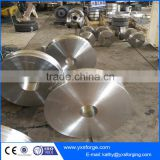 Crane trolley forging wheel /driving wheel/driving sheave