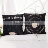 Wholesale (#CC007) Fashion Linen Cotton Bed Sofa Throw Pillow Case Cushion Cover