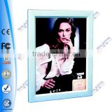 Slim Security Poster Board Aluminum frame sign