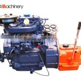 Marine diesel engine with gearbox 28hp ZX2105J-1electric starting for open type lifeboat in Cambodia