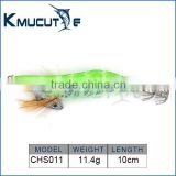 Chentilly CHS011 squid jig 2.5# luminous body hook stainless