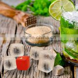 2016 New factory custom reusable plastic ice cubes