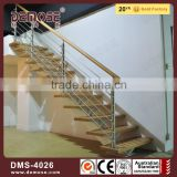interior straight steel wood residential vogue stairs