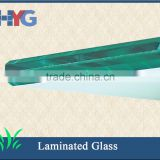 Laminated glass shutter window