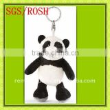 Mini Novelty Plush Panda Keychain