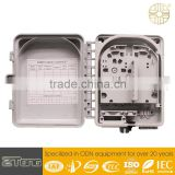china supplier zhantong fiber optic termination box 6-12core FTTH outdoor fiber optic termination box