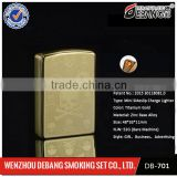 Hot Sale Excellent Gift USB Lighter Rechargeable Cigar Cigarette Electronic Lighter No Gas Colorful