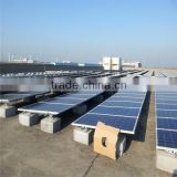 solar system photovoltaic for flat roof made in China cheap portable power solar system