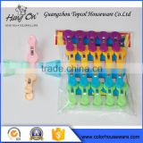plastic clothes hangers clip fashion plastic hanging clip                                                                         Quality Choice