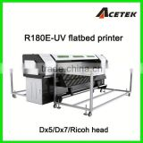textile /leather /plastic flatbed uv printer with Ko nica 512/1024 head (1440dpi,7 colors)