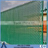 Used Galvanized Privacy Slat For Chain Link Fence