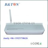GEPON Solution FTTH GEPON ONT EPON ONU Modem FTTX 2GE+2FE+ WIFI EPON ONU Fiber Optical Transport Network
