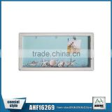 High Quality Wooden Wall Shelf Frame Resin Gift And Decorative Wood Tray Hanging Picture Frame