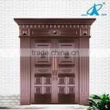 Main Double Real Copper Door Designs For Houses