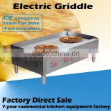 Extra large electric griddle commercial kitchen equipment steak pancake griddle