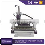 1325 big size ATC 3d CNC router , wood working cnc router with carousel auto tool changer