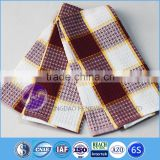 wholesale cotton yarn dyed waffle packing kitchen towel