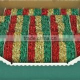 HOT SALE ! Gold/Red/Green Foil Sparkle Rubber Elastic Cord, Elastic Ribbon, Elastic Band for Gift Packing Decorations