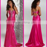 Beautiful Evening Gowns Party Dresses manufacture supply directly backless Evening Dress