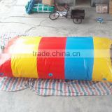 Fascinating inflatable blob jump with 0.9mm thickness PVC tarpaulin, jumping pillow, water air bag