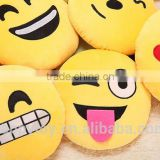 HI hot sale custom plush emoji bedding sets toys