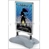 Outdoor Whirlwind a0.a1aluminum poster frame forecourt sign water based snap frame display stand                                                                                                         Supplier's Choice