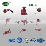 Hot Sale several types Truck Trailer Chassis Shipping Container Parts Truck Rear Door LOCK