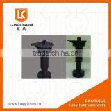folding table legs rubber feet for chair table legs plastic feet for outdoor furniture from G uangzhou Hardware